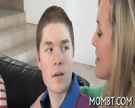 Hot Threesome With A Lusty Mum - scene 1