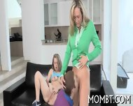 Hot Threesome With A Lusty Mum - scene 10