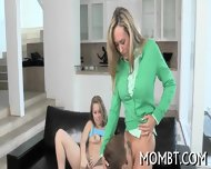 Hot Threesome With A Lusty Mum - scene 12