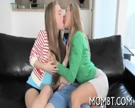 Hot Threesome With A Lusty Mum - scene 2