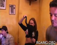 Men And Gals On Sex Party - scene 6
