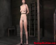 Sub Getting Spanked And Gagged - scene 3