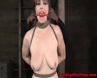 Sub Getting Spanked And Gagged - scene 7