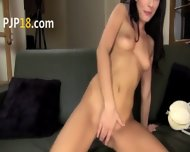 Beauty Dildoing Ultra Sweet Pussy Hole - scene 6