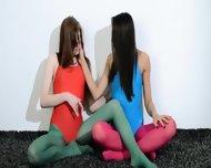 Hairy Lesbians In Nylon Pants Erotica - scene 2