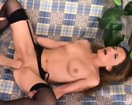 Babes Inserting Fists Into Their Cunts - scene 12