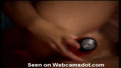 Sexy Brunette masturbating on her Webcam - scene 7