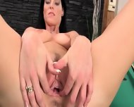 Beautiful Vagina Masturbation On The Billiards - scene 11