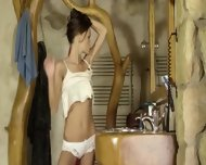 Charming Brunette With Luxury Body - scene 4