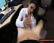 Big Boobs Milf Pounded In The Pwanshop To Earn Extra Cash - scene 5