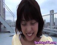 Japan Babes Outside - scene 1