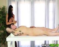 Cock Wanking Massage Babe - scene 4