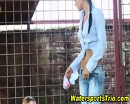 Glam Watersports Lesbians - scene 4
