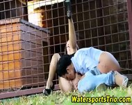 Glam Watersports Lesbians - scene 7