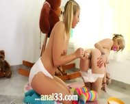 Unique Lesb Games With Diapers - scene 8
