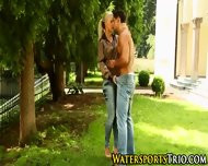 Piss Soaked Hardcore Fuck - scene 4
