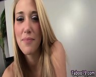 Taboo Footjob Step Teen - scene 1
