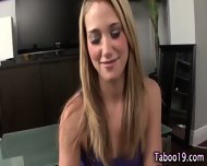 Taboo Footjob Step Teen - scene 2