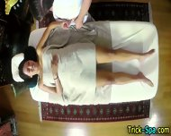 Asian Babe Rubs Down Cock - scene 7