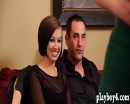 Two Young Couple Swap Partners For Orgy In The Red Room - scene 9