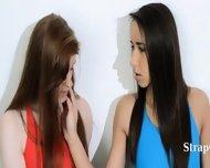 Hairy Lesbians In Nylon Pants Deepfucking - scene 2
