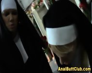 Ass Dildo Nun Cleanse Sin - scene 2