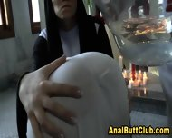 Ass Dildo Nun Cleanse Sin - scene 4