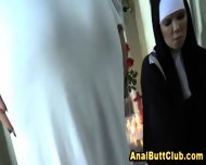 Ass Dildo Nun Cleanse Sin - scene 5