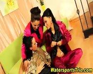 Lesbian Pee Drinkers Oral - scene 11