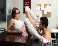 High School Teen Licked - scene 6