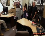 Crazy Latina Chick Persuaded To Have Sex In The Pawnshop - scene 3