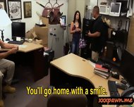 Crazy Latina Chick Persuaded To Have Sex In The Pawnshop - scene 4