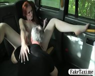 Tight Redhead Customer Pussy Screwed Up By Fraud Driver - scene 6
