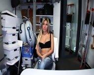 Nude Teen Slut In Office - scene 1