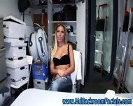Nude Teen Slut In Office - scene 4
