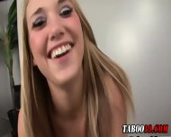 Taboo Step Teen Footjob - scene 1