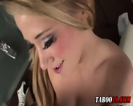 Taboo Step Teen Footjob - scene 6