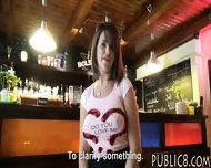 Massive Boobs Waitress Railed By Customer For Money - scene 2