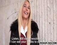 Czech Slut Kyra Hot Nailed And Cum Facialed For Some Cash - scene 1