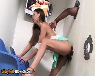 Glory Hole Skank Facial - scene 6
