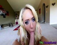 Blonde Busty Tit Fucked - scene 5