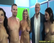Pornstar Group Sex Show - scene 12