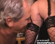 Slutty Wife Roped And Shock Fucked - scene 11