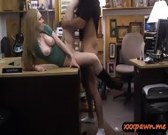 Blonde Babe Gives Bj And Pawn Her Pussy For A Pearl Necklace - scene 12