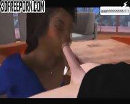 Interracial Blowjob - scene 9