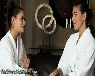 Lesbian Babes Strapon Fun - scene 3
