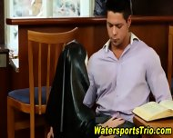 Glam Watersports Orgy - scene 2