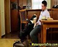 Glam Watersports Orgy - scene 4