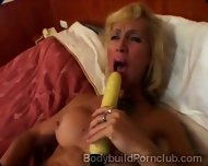 Naugthy Mature Blonde With Fitness Body Drills Her Pussy - scene 2