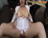 Hot Big Boobs Business Woman Pussy Nailed To Earn Money - scene 12